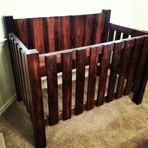 Diy Cribs by White Baby Crib Diy Projects