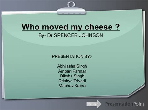 book report on who moved my cheese who moved my cheese free book report