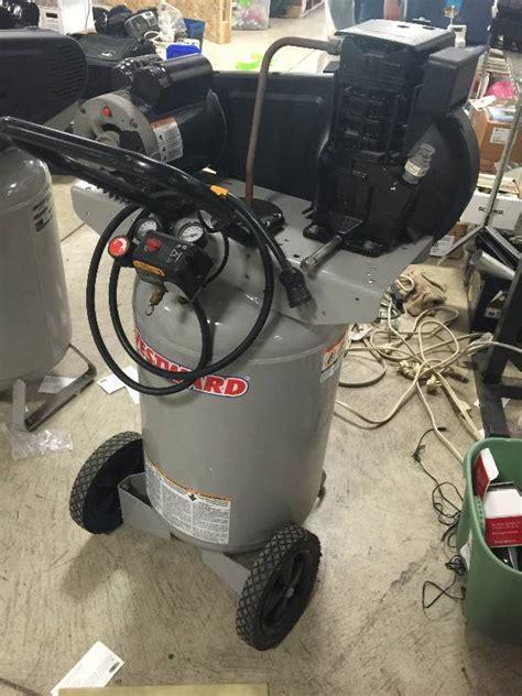 westward air compressor model twb    hp  gallon vertical air compressor entire
