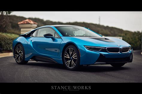 stance works look at the bmw i8 on american soil