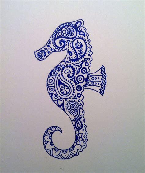 paisley seahorse by iluvsparkles on deviantart