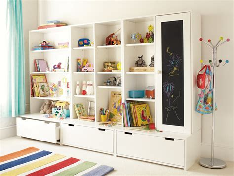 Kid Storage | book storage ideas cool and creative to apply at home