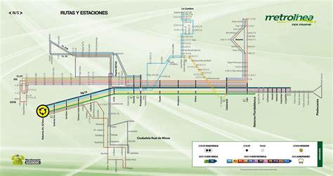 ruta alimentadores metro metrol 237 nea