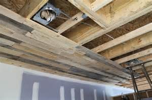 pallet ceiling installation home indy