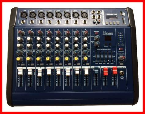 Power Mixer 8 Channel Murah nfs2ru 500w rms pmx802 professional powered audio dj mixer