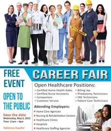career flyer template 9 fair flyers free sle exle format