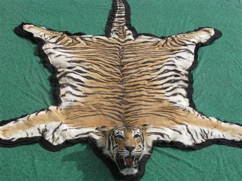 tiger rug tiger rugs cow hides zebra rugs in dubai carpets dubai