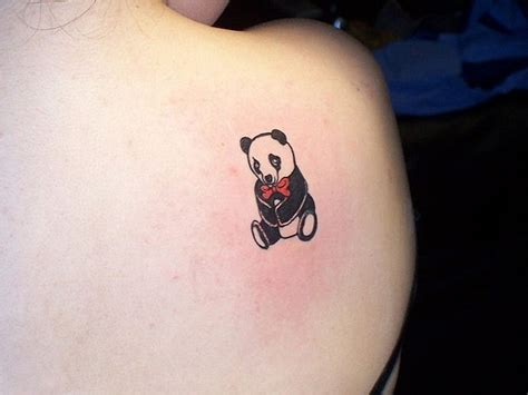panda tattoos 51 panda shoulder tattoos design