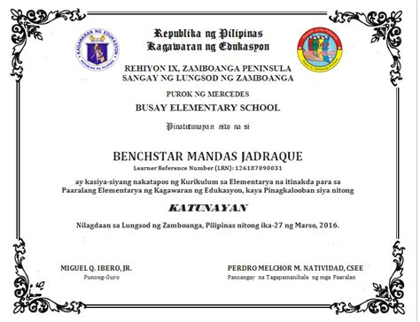 high school diploma template pdf diploma template editable sle deped lp s