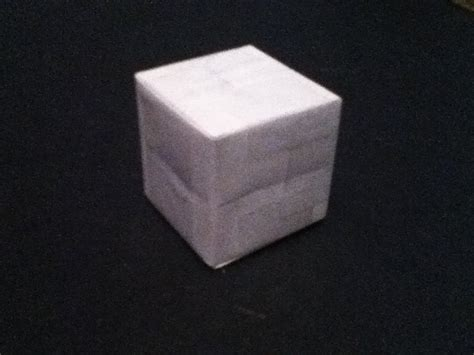 Make A Cube From Paper - how to make a paper cube the easy way