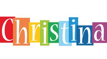 christina logo name logo generator smoothie summer