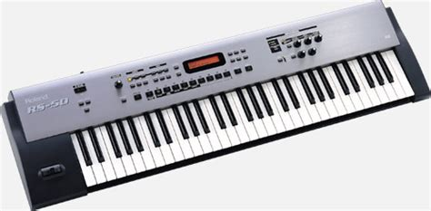 Keyboard Roland Rs 50 roland rs 50 synthesizer