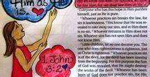 1 Minute Bible Love Notes Biblelovenotes On Pinterest