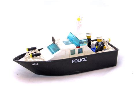 lego boat pieces for sale police rescue boat lego set 4010 1 building sets