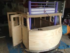 Kid Platform Beds - best dad ever builds vw bus bed for 3 year old daughter