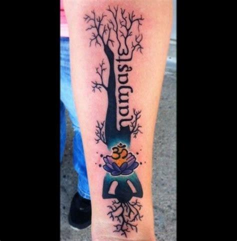 namaste symbol tattoo designs namaste tree trees namaste