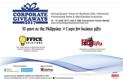 Top Corporate Giveaways - corporate giveaways buyers show