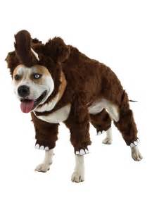 Raptor Costume Woolly Mammoth Pet Costume Funny Costumes For Dogs