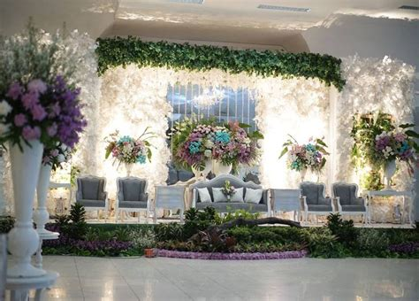 dekorasi pernikahan modern elegan minimalis  ngetrend