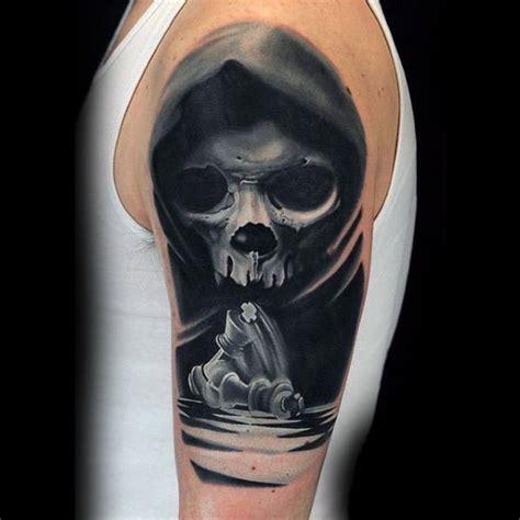 black and grey tattoo marisa kakoulas pr 228 chtiger sehr detaillierter mystischer sch 228 del mit