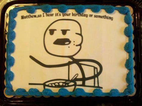 Meme Birthday Cake - 19 marvelous meme cakes smosh