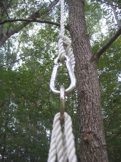 swing rope 301 moved permanently