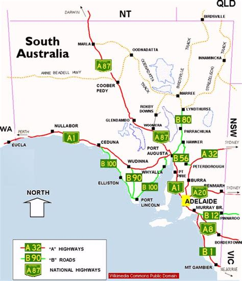 printable australia road map outback south australia facts famous tracks rugged