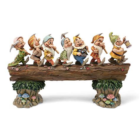 Play Kitchen From Old Furniture Seven Dwarfs Quot Homeward Bound Quot Jim Shore The Toy Workshop
