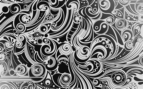 gambar abstrak hitam  putih pola garis satu warna