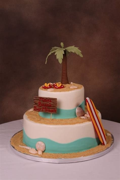 beach themed birthday cakes don t forget to follow us on facebook