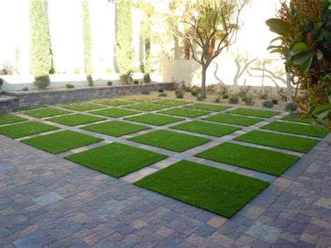 Landscape Design With Artificial Grass How To Install Artificial Grass In The Garden Home