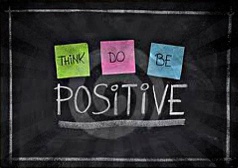 Think Be Positive master your think do be positive