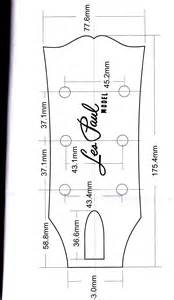 Stratocaster Headstock Template by Fender Stratocaster Headstock Template Www Imgkid