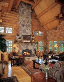 open floor plans with lots of windows log cabin great room lincoln logs pinterest