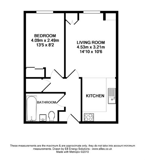flat floor plans 1 bedroom st central ox1 ref 50081 oxford centre