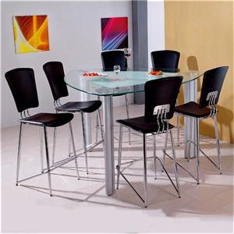 house bay front 7 triangle glass pub table
