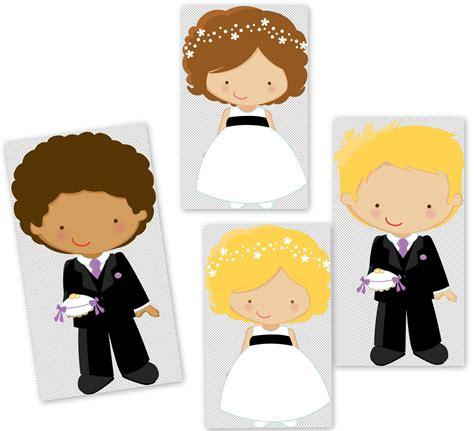 matrimonio clipart clipart de pajes o cortejo de boda oh my bodas