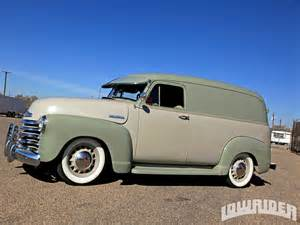 1951 chevrolet panel truck lowrider magazine