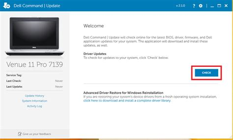 drive update how to use dell command update to update all drivers