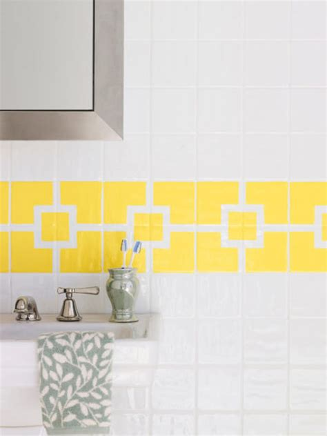 painted tiles bathroom how to paint ceramic tile diy painting bathroom tile for