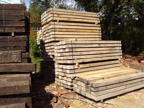 Reclaimed Sleepers by Buy Reclaimed Railway Sleepers Authentic Reclamation