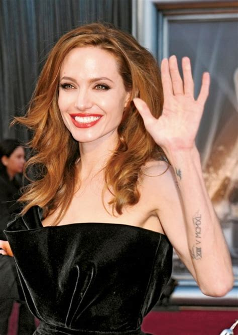 angelina jolie wrist tattoo the trend is it for everyone chatelaine
