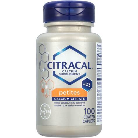 supplement with magnesium citracal calcium citrate d3 magnesium minerals