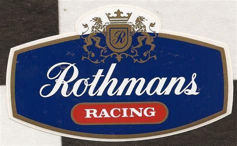 rothmans porsche logo rothmans racing logo porsche le mans 956 962 original
