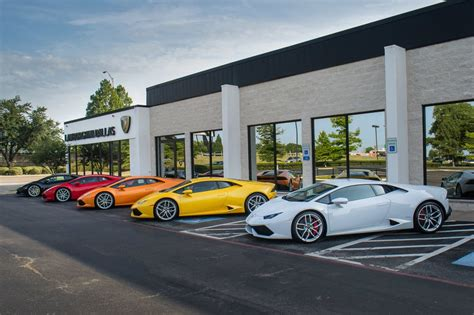 Nearest Lamborghini Dealership Lamborghini Dallas 12 Photos Car Dealers 601 S
