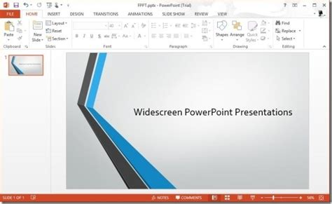 creating a powerpoint template 2013 you can now make amazing widescreen presentations using