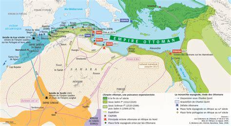 la chute de l empire ottoman carte l empire ottoman xvie xviiie si 232 cle lhistoire fr