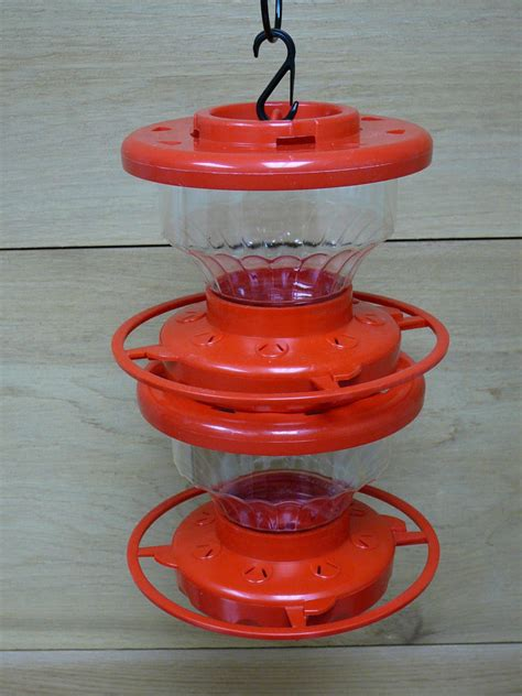first nature 32oz double stack hummingbird feeder 3317