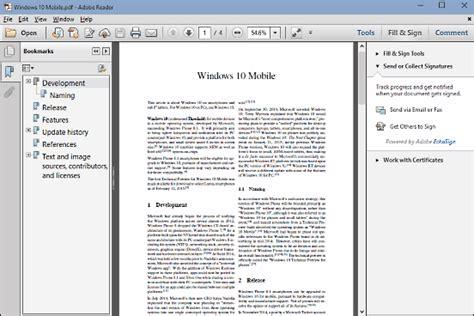 best pdf viewer best pdf viewer for windows 10 tablet