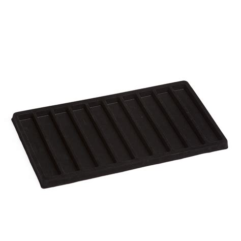 tray insert for watches black velvet a b store fixtures